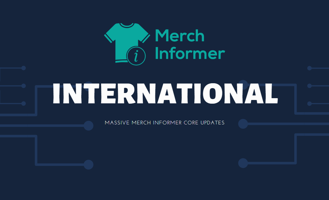 Merch by Amazon German and English Marketplace Data Added – See The Best Sellers For Each Market