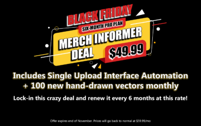 Merch Informer Black Friday Deal – Starts NOW!