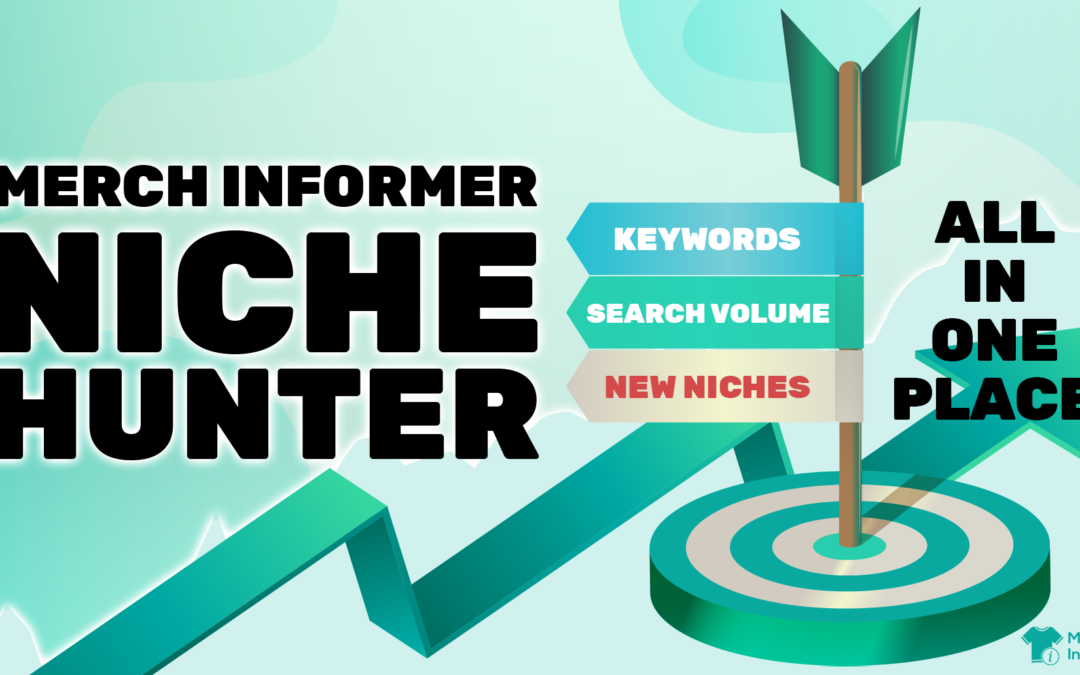 Niche Hunter – Amazon Keywords, Search Volume, and New Print on Demand Niches In ONE Place